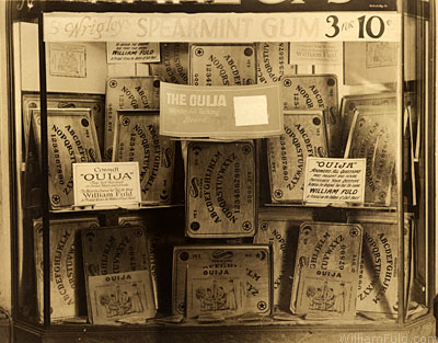 William Fuld ouija display