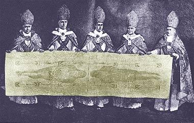 bishops-holding-shroud