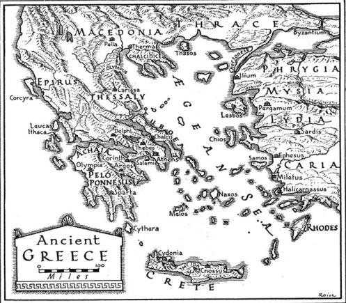 Helike Atlantis, on the Gulf of Corinth