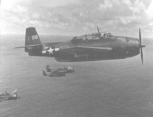 Training Flight 19 disappears 1945