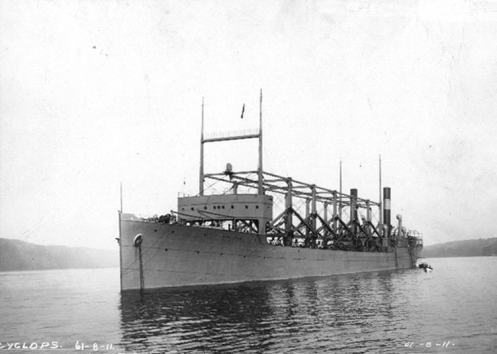 USS Cyclops disappears 1918