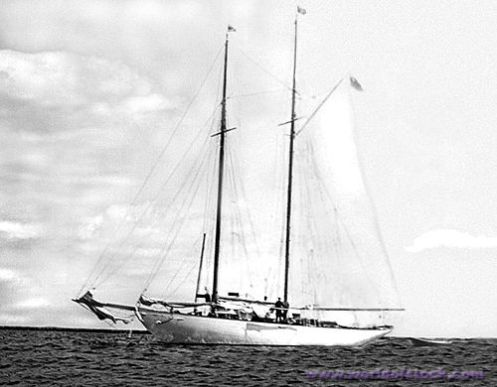 yacht Renovoc disappears 1958
