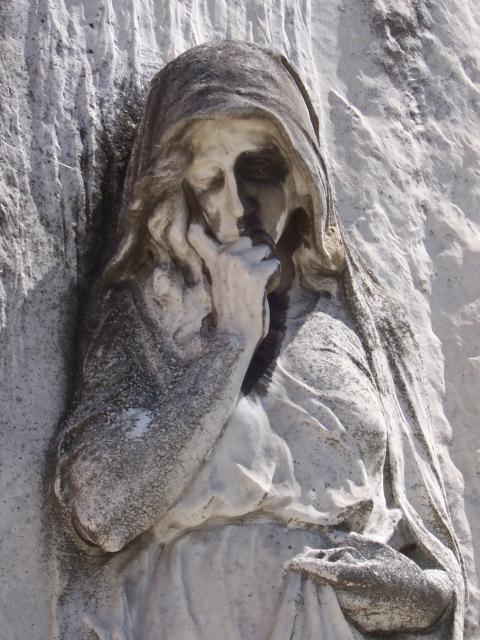 cemetery statue, Italy