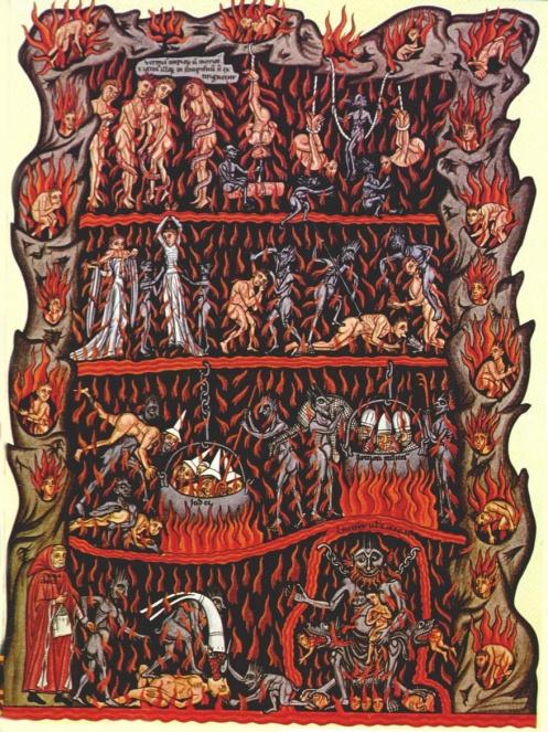Hortus Deliciarum - Hell